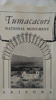 1950 Brochure Tumacacori National Monument Arizona