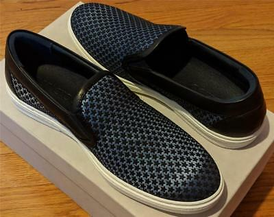 ee917a4b1074  595 Mens Jimmy Choo Star Pattern Slip On Skater Sneakers Avion Black 44 US  11
