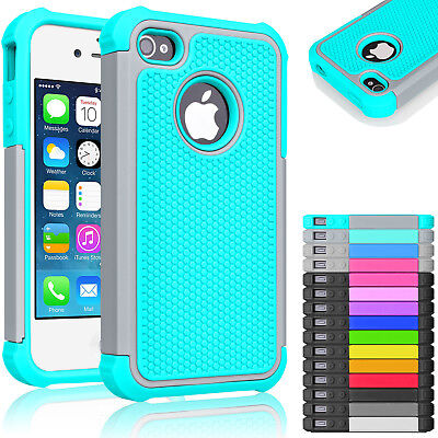 For iPhone 5C C Hybrid Shockproof Armor Rubber Impact Hard Case Cover