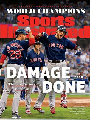 Sports Illustrated Red Sox 2018 World Series Champions Commemorative Pearce JD