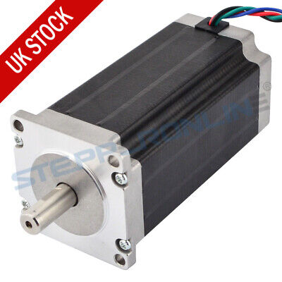 Low Current Nema 23 Stepper Motor 1.8deg 1.8A 2.4Nm 4 Wires CNC Router Robot