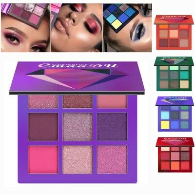 Eyeshadow Palette Beauty Makeup Shimmer Matte Gift Eye Shadow Cosmetic 9 Colors