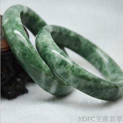 China Natural Chinese jade hand-carved bracelet ,beautiful bangle size:56~64mm