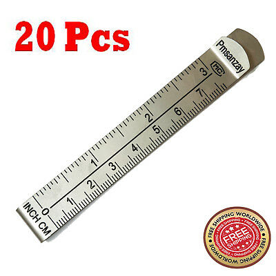 3 Measure Clip Hemming Clips Hemmer No Pin Hem Clip w//Marking Ruler Guides 3 Inch and 7.5 cm,for Quilting Supplies Wonder Clips Pinning and Marking Sewing Project (Pack of 6)
