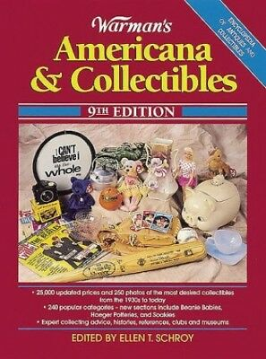 Warman's Americana and Collectibles Paperback Book The Fast Free Shipping