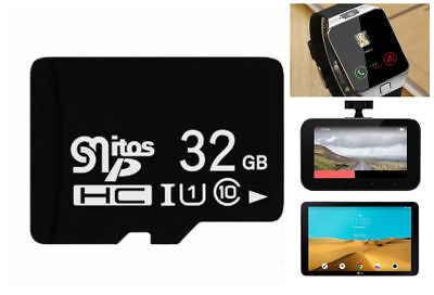 High-Speed 32GB Ultra Micro SD SDHC TF Memory Card 20MBs UHSI Class 10