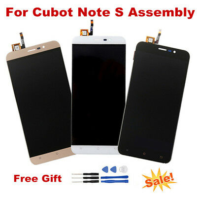 For Cubot Note S LCD Display + Touch Screen Digitizer Assembly with Repair Tools