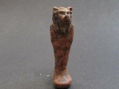 NILE  Ancient Egyptian Sekhmet Amulet ca 1000 BC