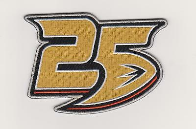 first rate 62799 4955a 2018 ANAHEIM DUCKS 25th Anniversary Collectible Patch - Iron ...