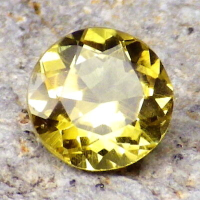 CHRYSOBERYL-BRAZIL 1.12Ct EYE CLEAN-THE THIRD HARDEST GEM-FOR RARE JEWELRY!