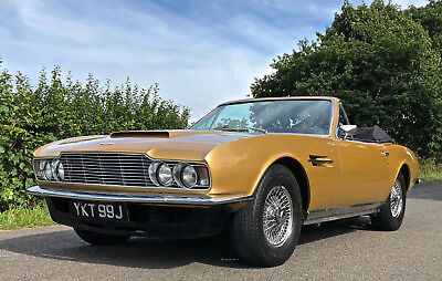 1970 ASTON MARTIN DBS 6 VOLANTE   No 1 of only 6 Convertible DBS in the world !
