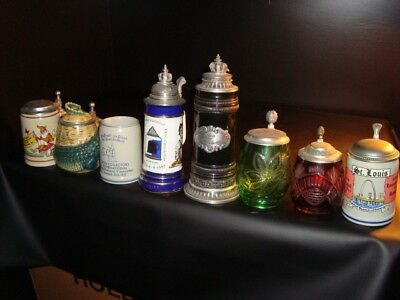 1960s/70s/80s/90s Stein Collector's International Convention Steins – FREE SHIP