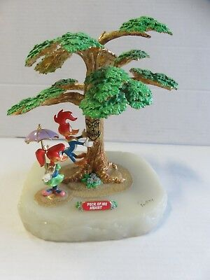 "Ron Lee Woody Woodpecker #2/1750 ""Peck of My Heart"" Statue/Figurine"