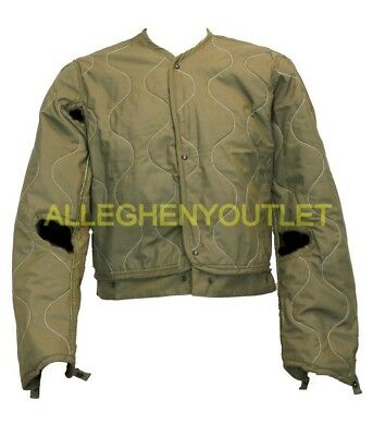 US Military CVC Combat Vehicle Crewman's Jacket Liner OD Green Many Sizes VGC