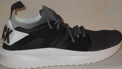 Men s Puma Tsugi Blaze Evoknit Blk Scl Black white Running Shoes Size 9.5 6c77ed272