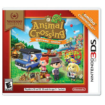 Animal Crossing New Leaf Nintendo Selects [E] (3Ds)