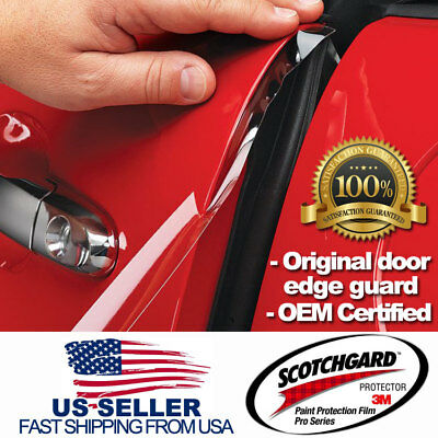 3M 4 Door Edge Guard Paint Scratch Protection Film. Clear Invisible Effective