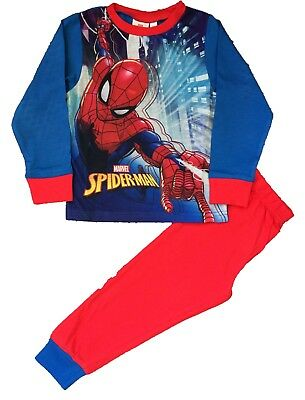 Spider-Man Boys Pyjamas Marvel Nightwear Sizes 18mths to 5 Years