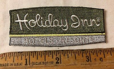 Holiday Inn Hotels Resorts Embroidered Patch Iron On