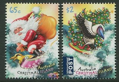 Christmas 2018 - Mnh Set Of Two (Go211)