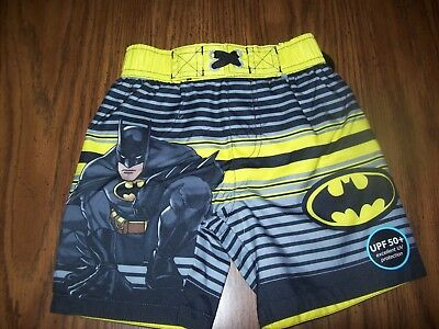 203734cafb TODDLER BOYS DC Comics BATMAN Swim Shorts Trunks - Size 2T - New NWT ...