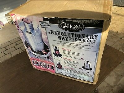 The Orion Cooker Convection BBQ Smoker NEW OPEN BOX SEE!!