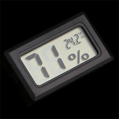 Digital Meter Temperature Indoor Tester Humidity Thermometer Hygrometer Gauge