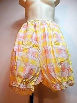 Nos Vintage 1950s Baby Doll Cotton Bloomers Pantaloons Rockabilly Pinup Panties