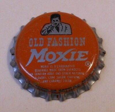 "Vintage Moxie ""Old Fashion""..cork..unused..SODA BOTTLE CAP"