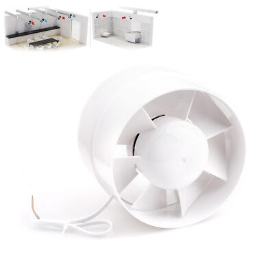 """6"""" Inline Duct Booster Cooling Exhaust Blower Air Cooling Vent Fan Hight Flow"""
