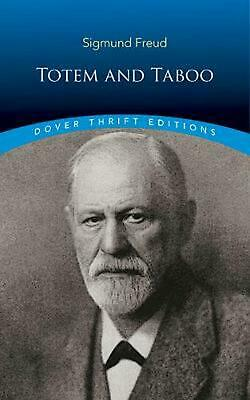 Totem and Taboo by Sigmund Freud Paperback Book Free Shipping!