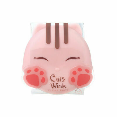 TONYMOLY Cats Wink Clear Pact #2 Clear Beige 11g Free gifts