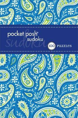 Pocket Posh Sudoku 25: 100 Puzzles by The Puzzle Society Book The Cheap Fast