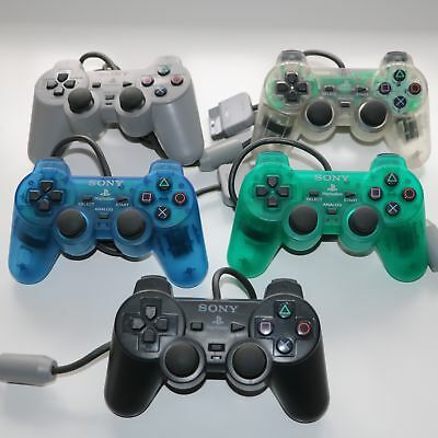 Official Sony Dualshock Ps1 Playstation Psone Controller Pad Scph-1200