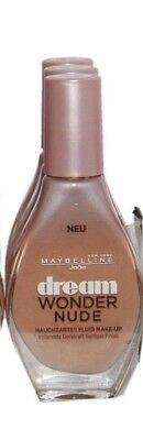 3 x Maybelline Dream Wonder Nude Foundation | Cameo | RRP £24