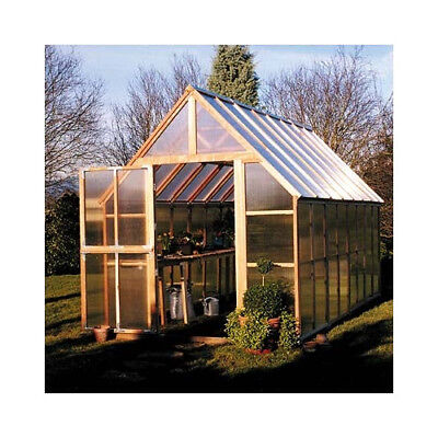 Sunshine Gardenhouse 8 Ft. W x 16 Ft. D Hobby Greenhouse