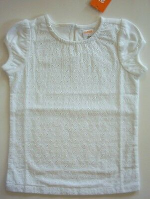 NWT Gymboree Spring Dressy Collection White Eyelet Shirt Top 4