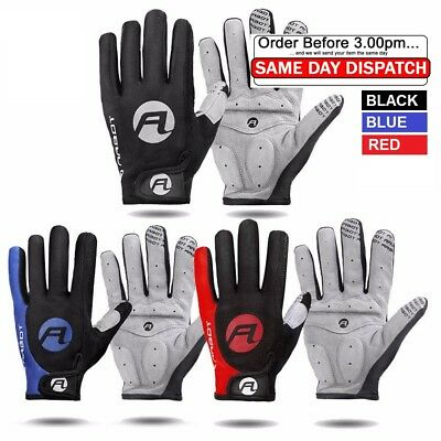 Pair X Professional Cycling Gloves Waterproof Windproof Full Finger Touch Screen