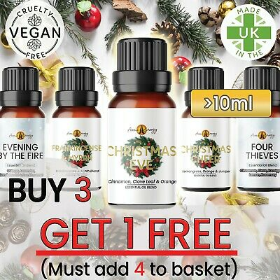Christmas & Winter - ESSENTIAL Oils Pure Essential Oil Diffuser Fragrances