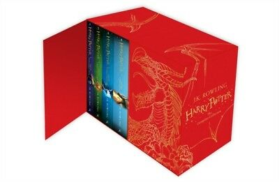 Harry Potter Box Set: The Complete Collection (Children's Hardbac...