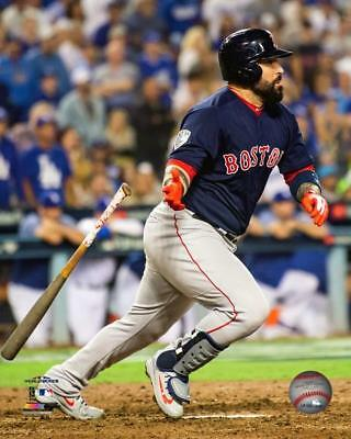 Sandy Leon Boston Red Sox World Series Action Photo VS156 (Select Size)