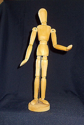 12.75 Inch Tall Artists' Wooden Mannequin