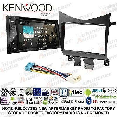 KENWOOD DDX276BT DOUBLE Din CD Player Car Radio Install