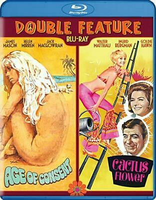 Age of Consent/cactus Flower:double F - Blu-Ray Region 1 Free Shipping!