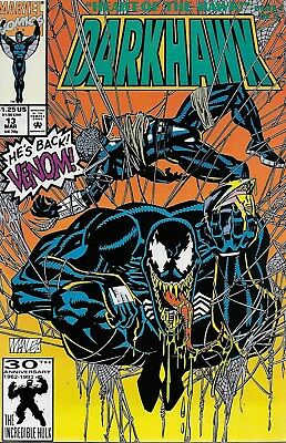Darkhawk No.13 / 1992 Venom / Danny Fingeroth & Mike Manley