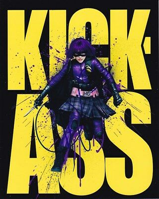 CHLOE GRACE MORETZ signed autographed KICK-ASS MINDY MACREADY HIT GIRL photo