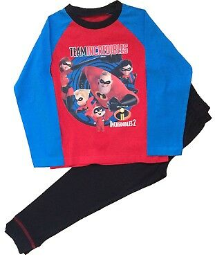 Incredibles 2 Boys Pyjamas Team Incredibles Pjs Sleepwear