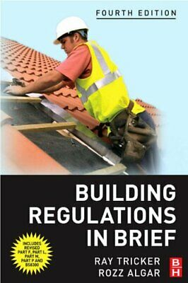 Building Regulations in Brief by Tricker (MSc  IEng  FIET  FCIM  FIQA  Paperback