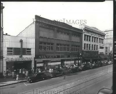 Press Photo Vintage Photo of Silver's on 2nd Ave in Birmingham, Alabama