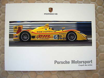 Porsche Official 911 Cup Gt3 Rs Rsr Spyder Brochure French 2006